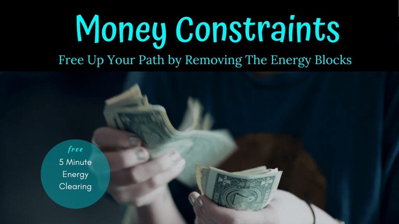 Energy Clearing for Money Constraints