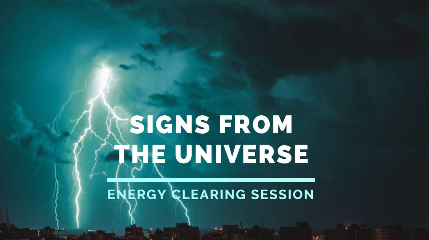 Energy Clearing to get more signs