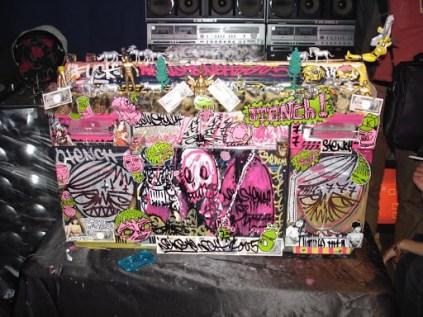 TURBOSONIC-Live Painting/Customizing ,SHiURA DJ-Enban,Tokyo