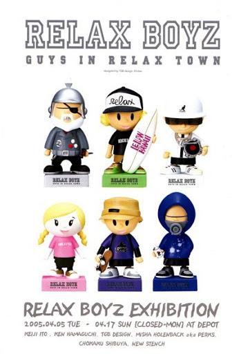 Relax Magazine-RELAX BOYZ Exhibition at DEPOT Tokyo