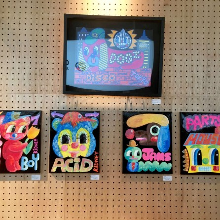 Rob Kidney pop-up exhibition 'Hi-NRG' at Mori in