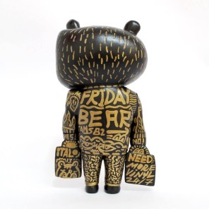 Hand painted 'Friday Bear' ①