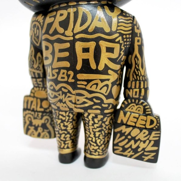 Hand painted 'Friday Bear' ①