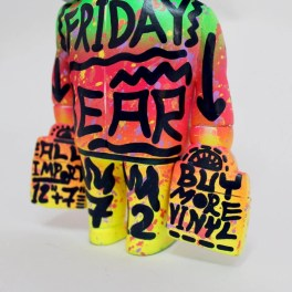 Hand painted 'Friday Bear' ③