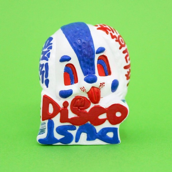 Hand painted 'DISCO DUST' ③