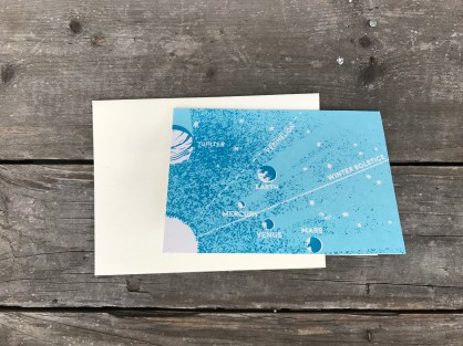 Space Cards w/ Envelope