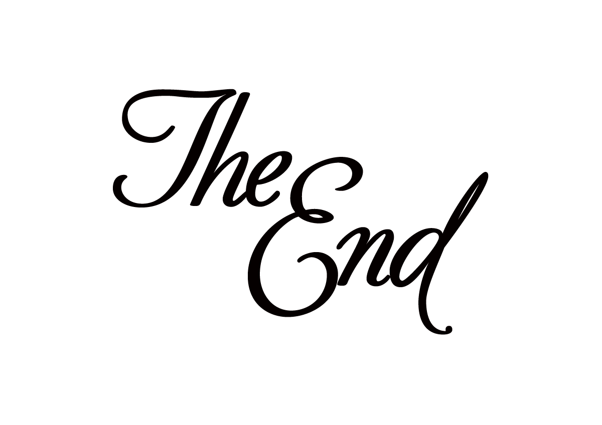 The End Typographic Design By Robin Mientjes