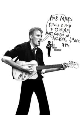 RCA Art Bar gig poster