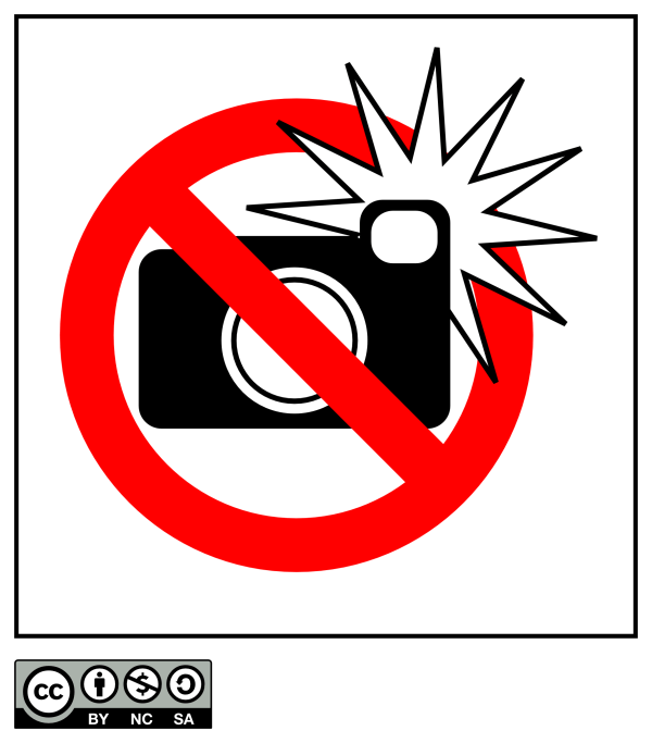 No Flash Photography Sign | Rob Myers
