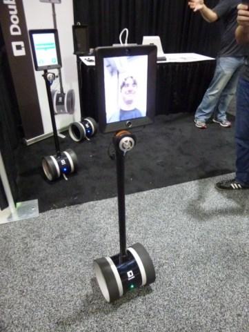 ダブル・ロボティクス社のテレプレゼンス・ロボット
