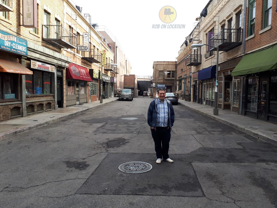 Me at the Seinfeld NY backlot