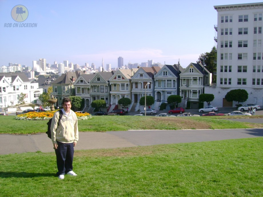 me at the Painted Ladies - Full House
