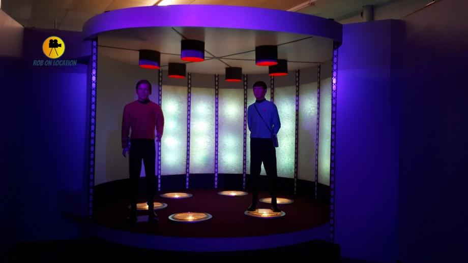 Star Trek transporter set