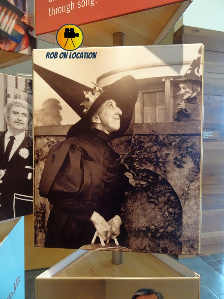 Wicked Witch of the West on Mister Rogers Neighborhood