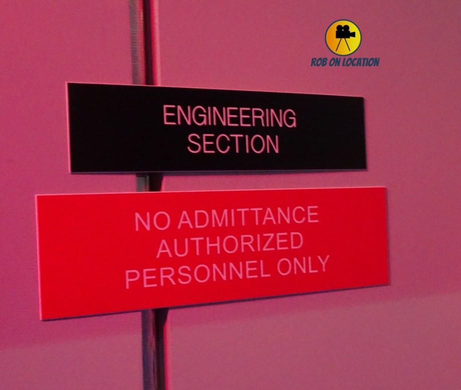 Star Trek set tour - Engineering
