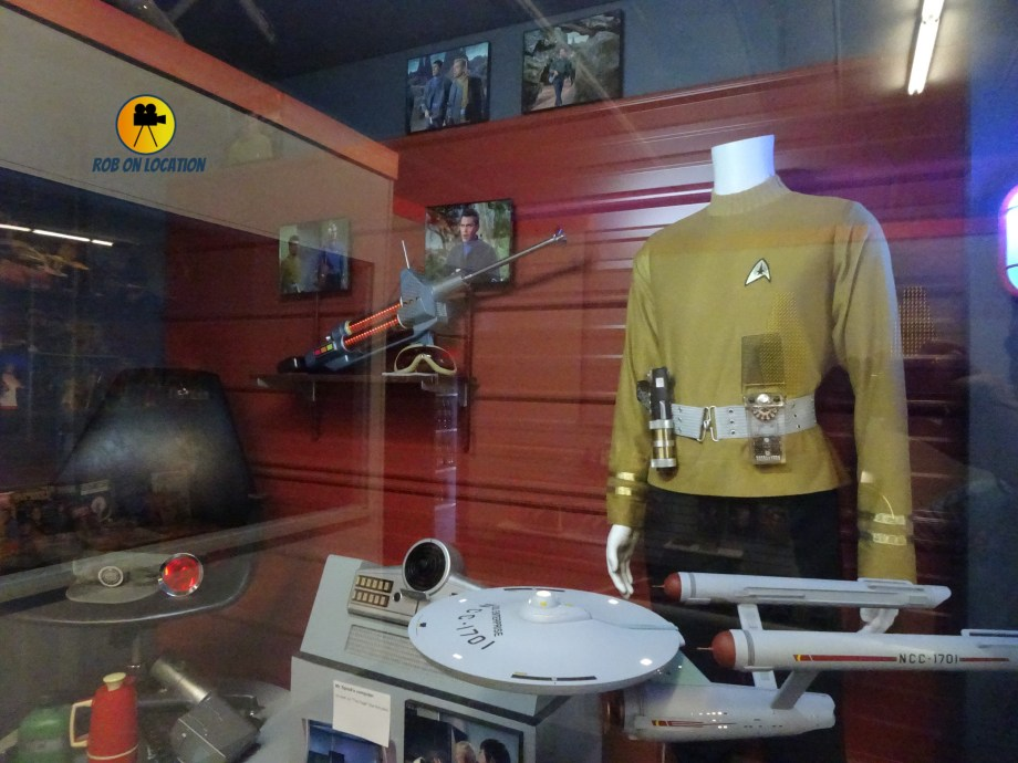 Star Trek costumes and props