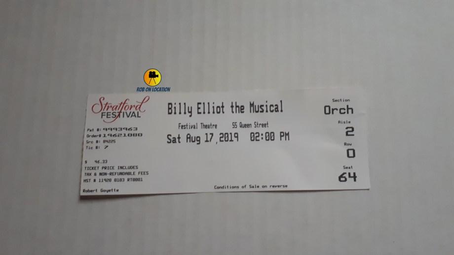 Billy Elliot Stratford