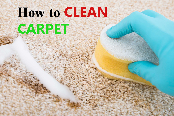 How to clean carpet – tips and tricks for cleaning your carpet