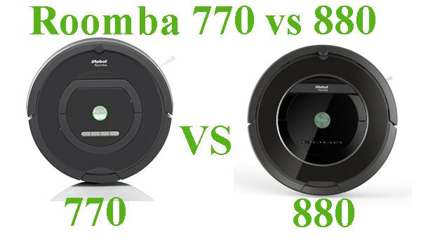 roomba- 770 vs 880 compare