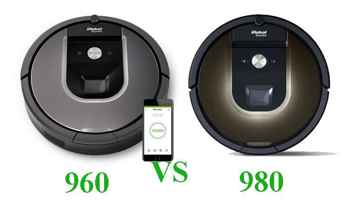 roomba 960 vs 980 compare