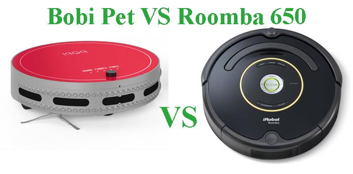 Bobi Pet and Roomba 650