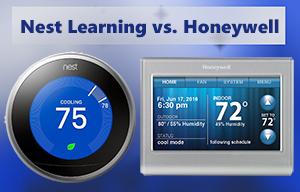 Nest Learning vs Honeywell