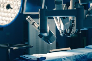 robotic surgery in OR