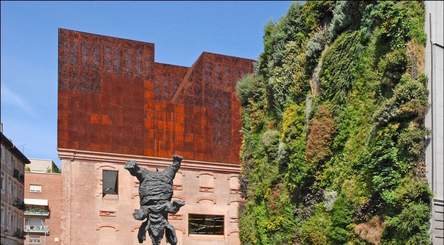 Jardin vertical Caixa Forum Madrid