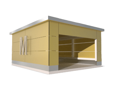 Caseta IdeaMower Cube Line