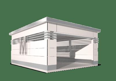 Caseta IdeaMower Cube Style