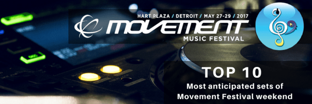 Top 10 Most Anticipated Acts of Movement Detroit