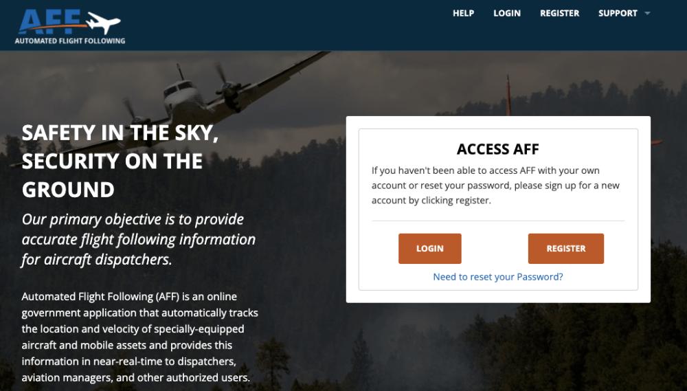 Automated-Flight-Following