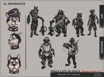 15 for review DOG Character concepts