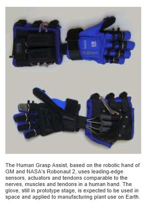 GM RoboGlove developed with NASA