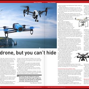 Commercial drones feature, Sensor Readings issue 2