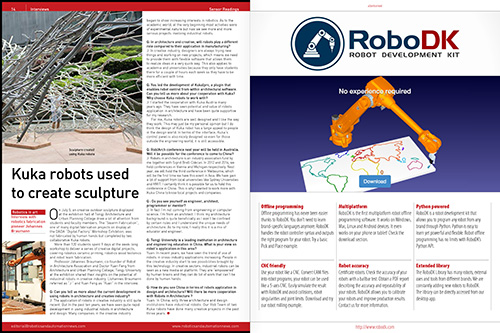 Robot sculptors interview (issue 3)
