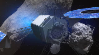 Asteroids hurtling towards Earth. Nasa readies SSL robots