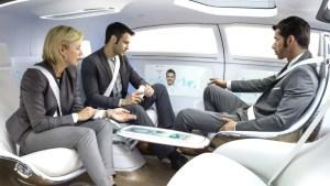 driverless car interior