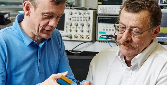 Inventors of NFC: Franz Amtmann and Philippe Maugars