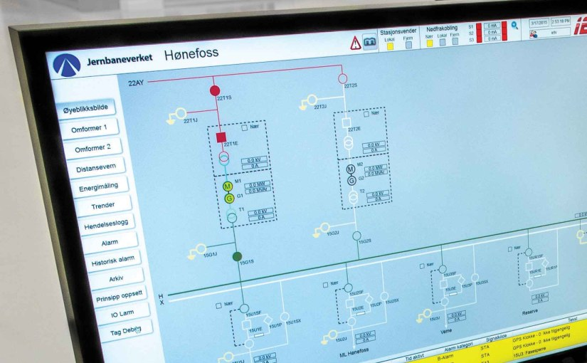 Norway's railroad network replaces 40-year-old technology with new automation software