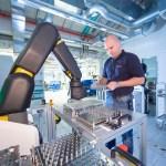 bosch automatic production assistant robot arm