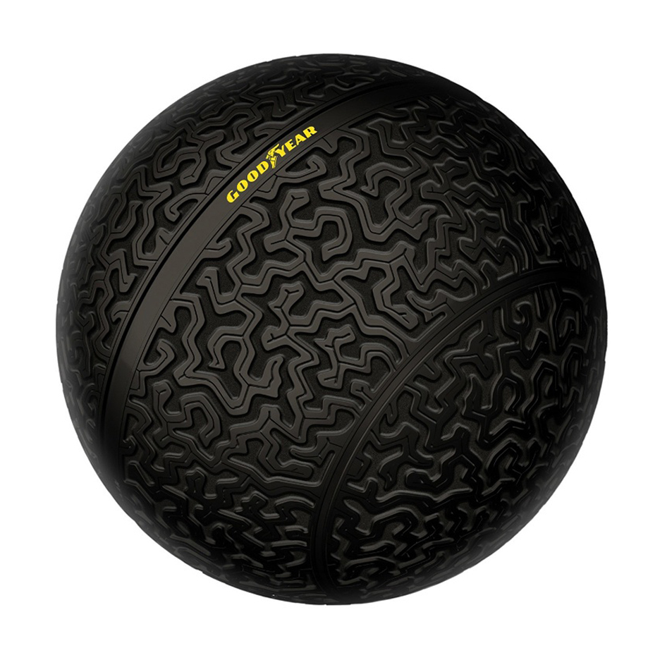 Goodyear sketches out our spherical wheels idea after we mention it on this website