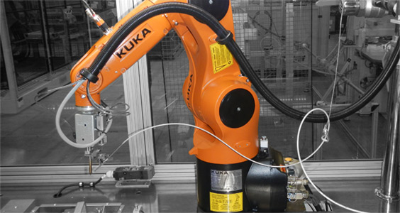 Alnea updates robot soldering system