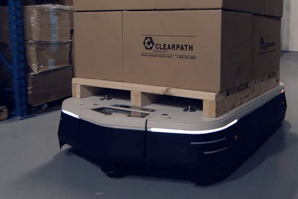 Yaskawa and Clearpath partner to build new industrial robot for logistics