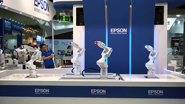 Epson sells 10,000 more industrial robots