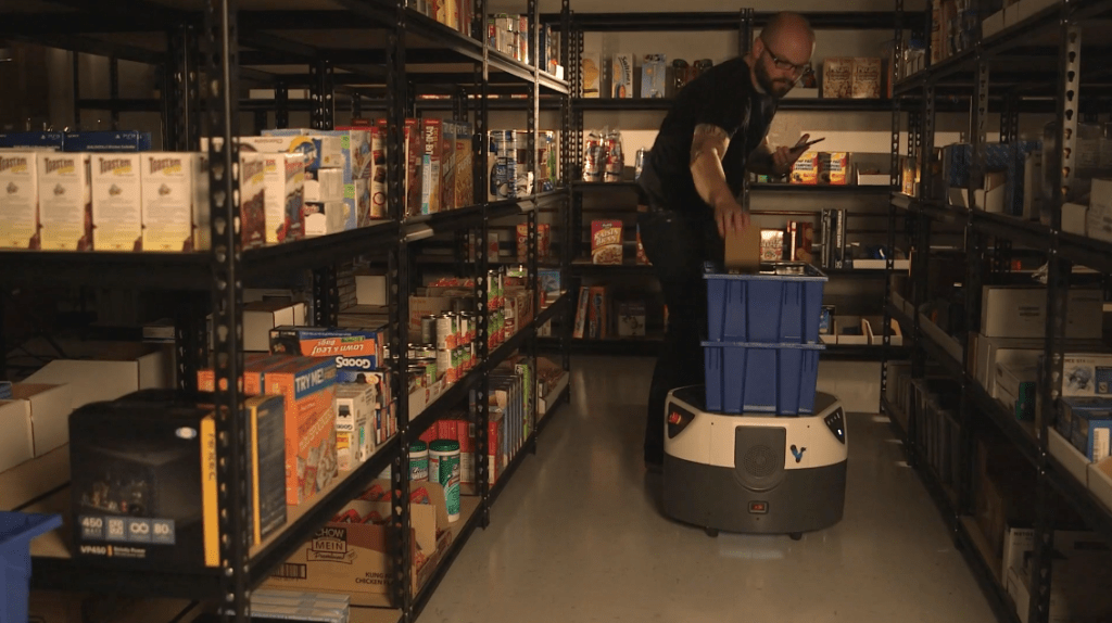Fetch signs deal with SAP on logistics robot warehouse system