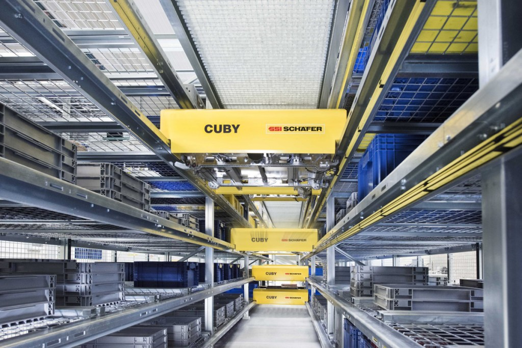SSI Schaefer presents a new shuttle system for bins and cartons
