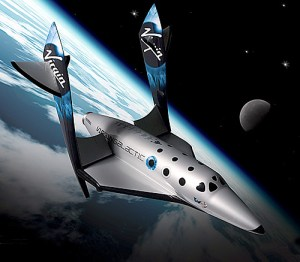 Virgin Galactic sub-orbital spaceship