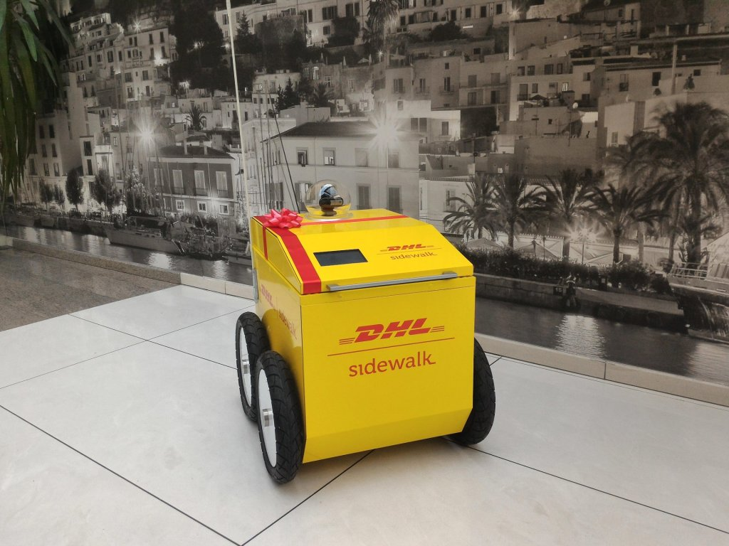 Dhl Launches Robotics Challenge To Build Self Driving Delivery Cart
