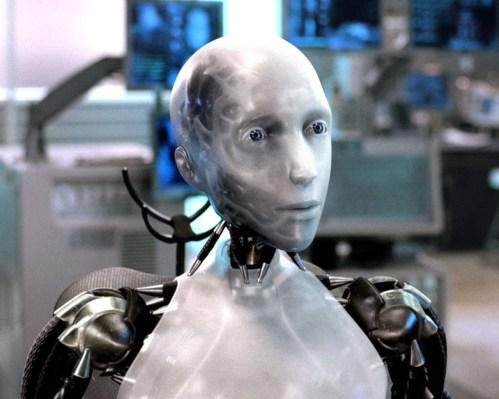 i robot film still